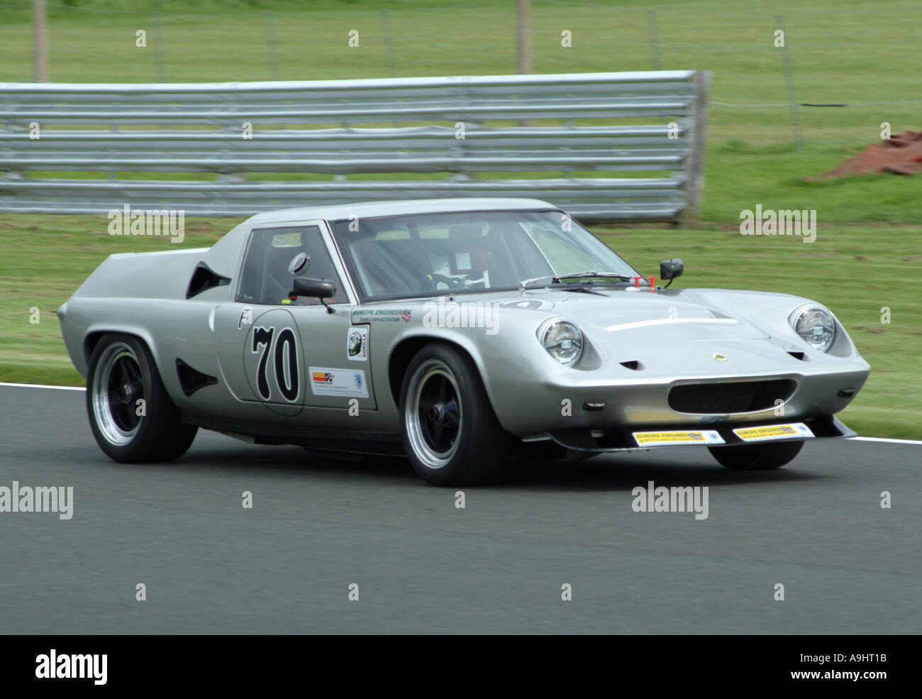 Silver Lotus Europa Banks TC 1598 Racing at Oulton Park Motor ...