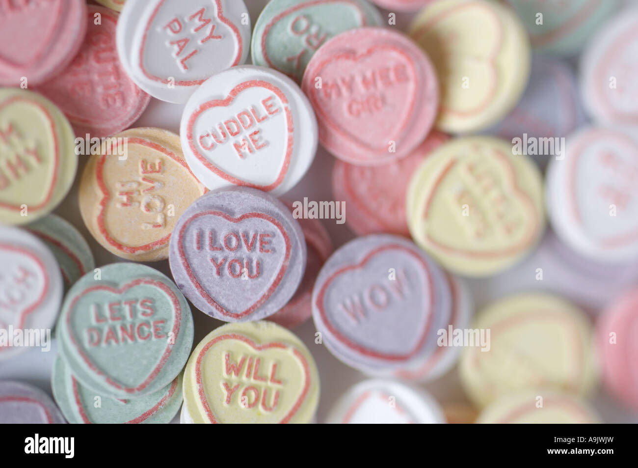 Love Hearts. I Love You, Valentines. Romance. Sweets