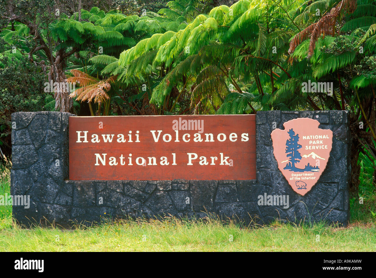 Volcano National Park On Big Island