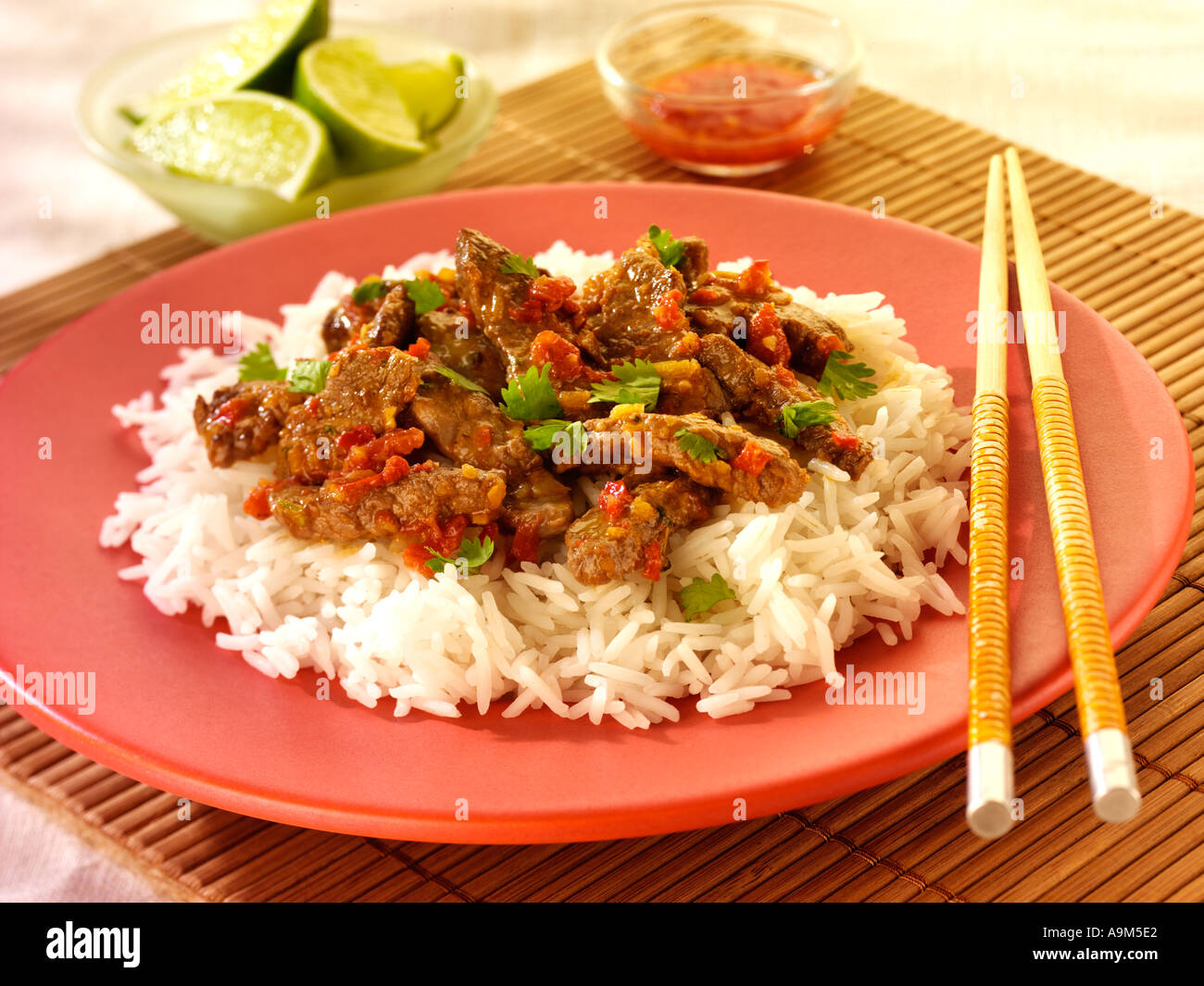 THAI RED BEEF CURRY Stock Photo, Royalty Free Image ...