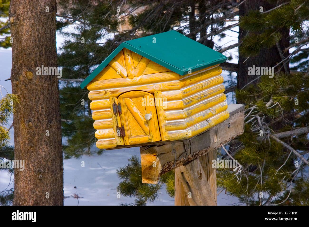 Log Cabin Mailbox June Lake California