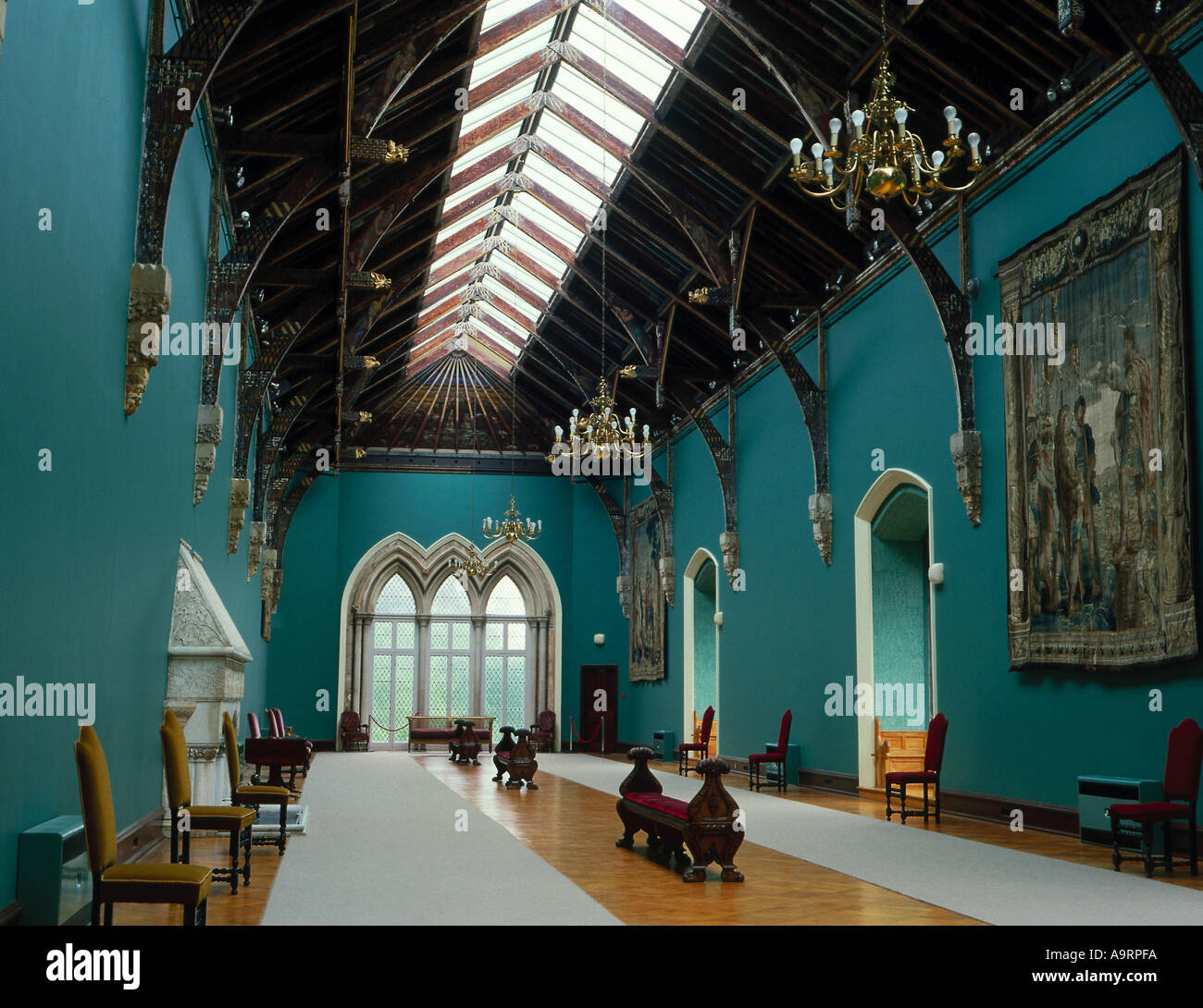 Kilkenny Castle Interior Ireland