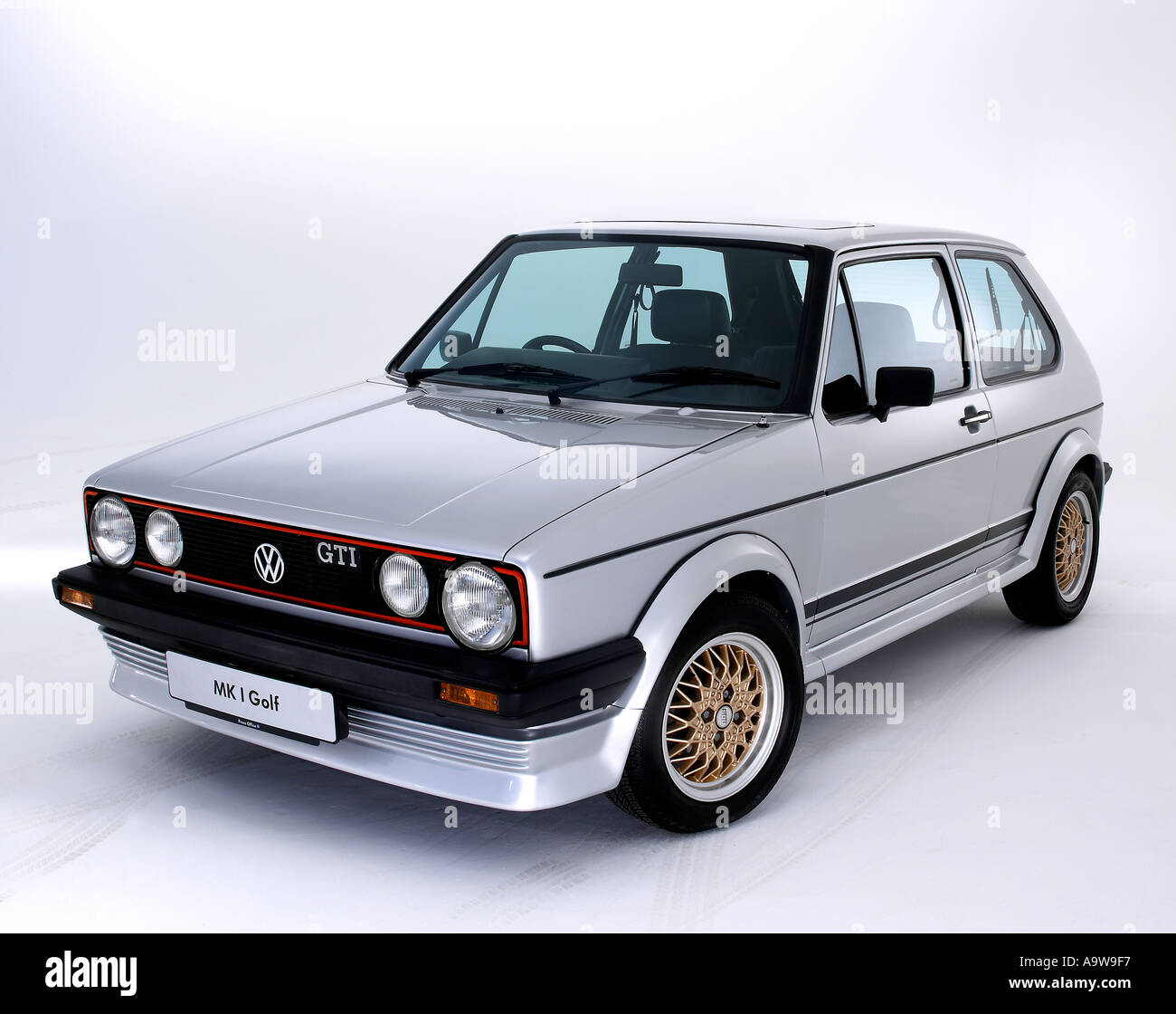 1984 vw golf gti mk1 stock photo royalty free image. Black Bedroom Furniture Sets. Home Design Ideas