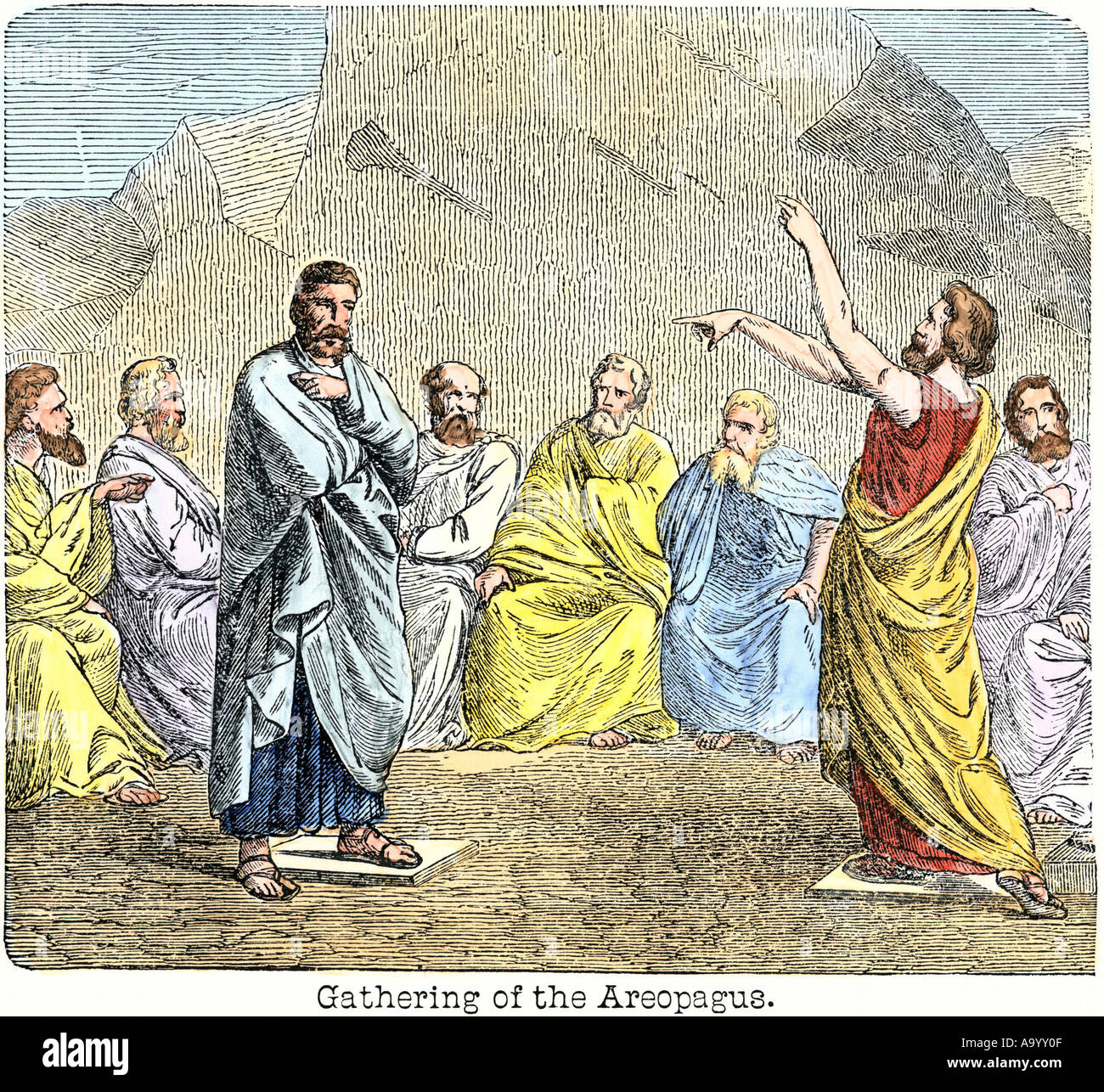 Ancient Greece Democracy Government Stock Photos & Ancient Greece ...