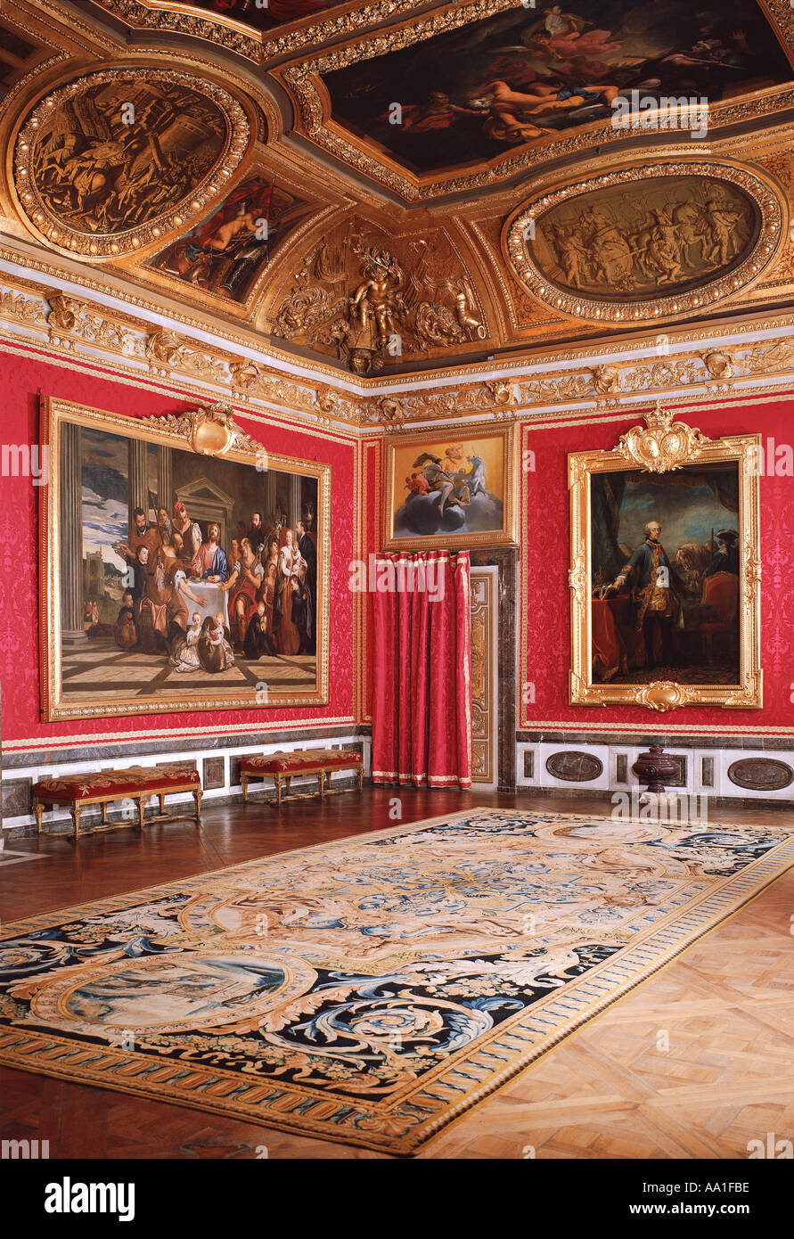 Palace of versailles salon de mars stock photo royalty for Salon de versailles