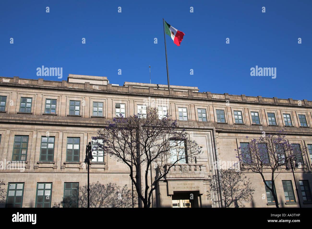 Stock photo suprema corte de justicia de la nacion supreme court near zocalo plaza de la constitucion mexico city mexico
