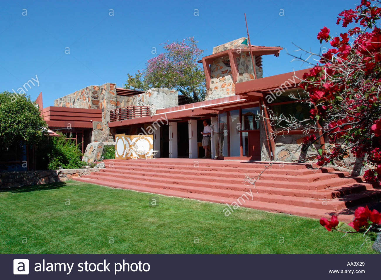 Taliesin West Architect Frank Lloyd Wright s Studio and Home Scottsdale  Arizona Building Started 1937