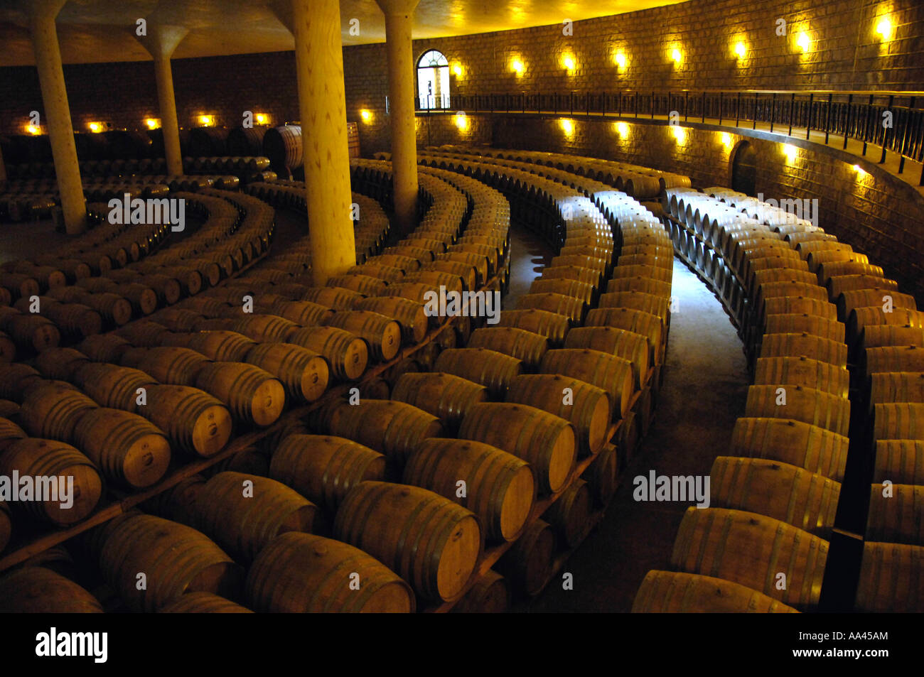 storage oak wine barrels. Oak Barrel Storage Area In COFCO Huaxia Great Wall Wine Co.,LTD Changli County, Hubei Province, China. Sep 2006 Barrels R