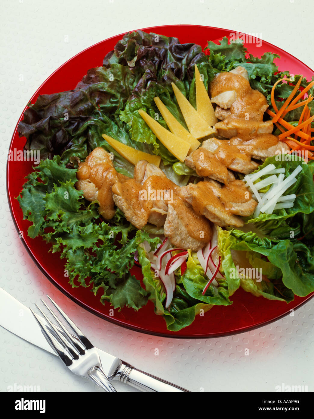 contemporary classics taste of Midwest hot cold veal salad lettuce ...