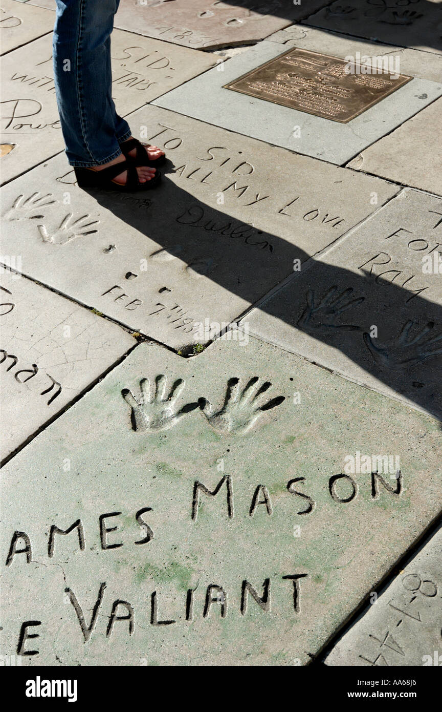 All the Hollywood secrets hidden in the handprints at the ...