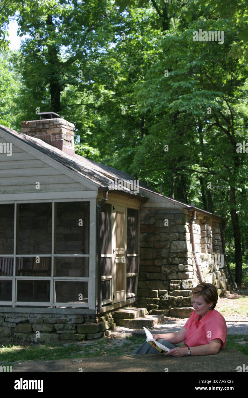 Incroyable Huntsville Alabama Monte Sano State Park Rental Cabin Porch Family Cottage