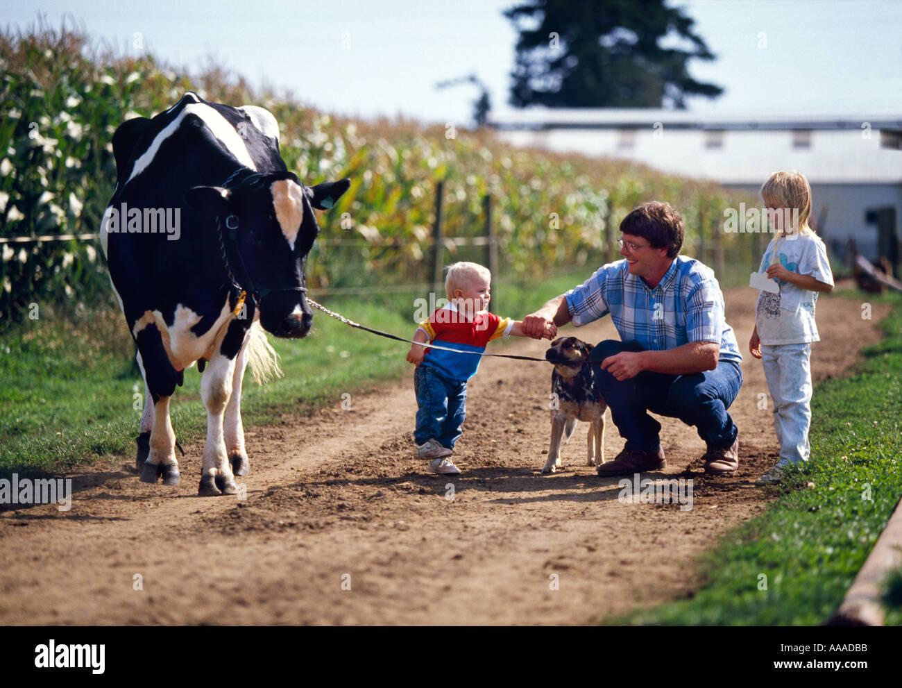 Agriculture Family Farm Life A