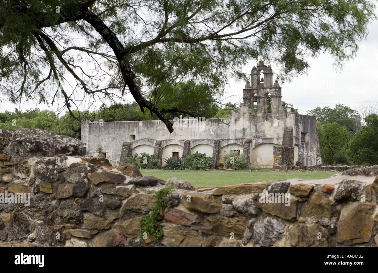 Mission san juan capistrano founded in 1731 near san antonio texas