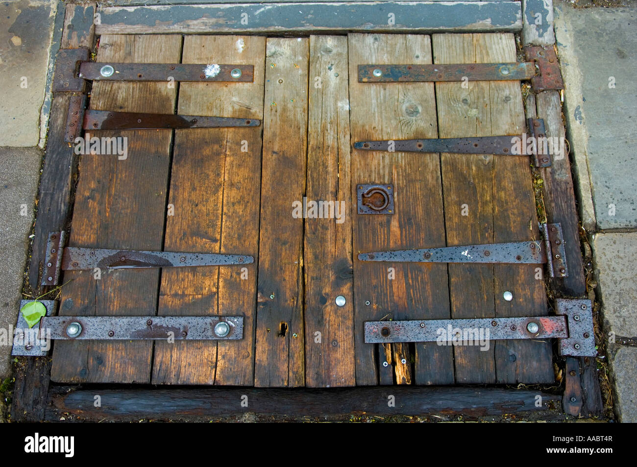 Old wooden pub trap door Stock Photo, Royalty Free Image: 12580342 ...