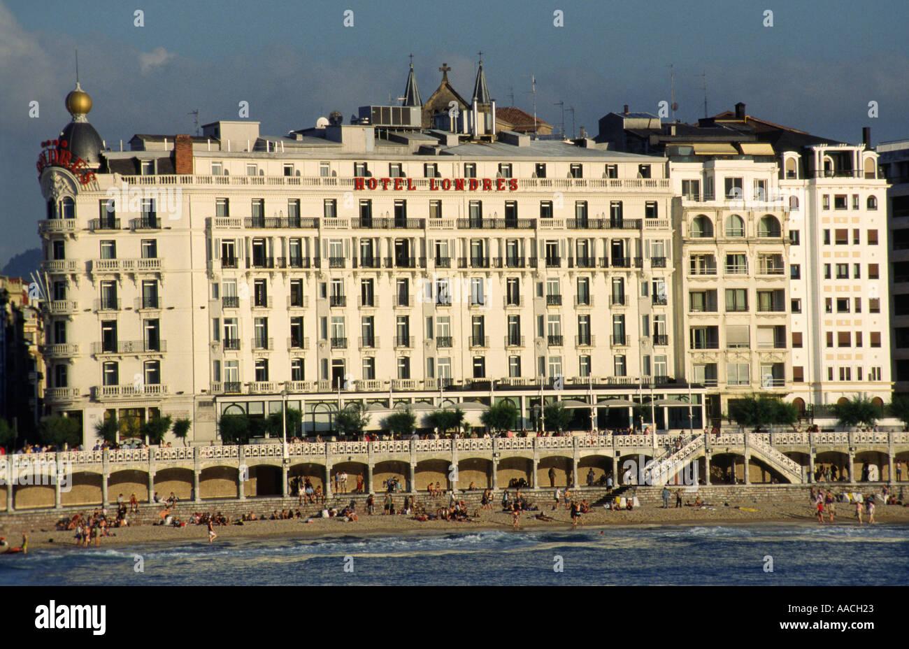 London hotel hotel londres san sebastian pais vasco for Hotels londres