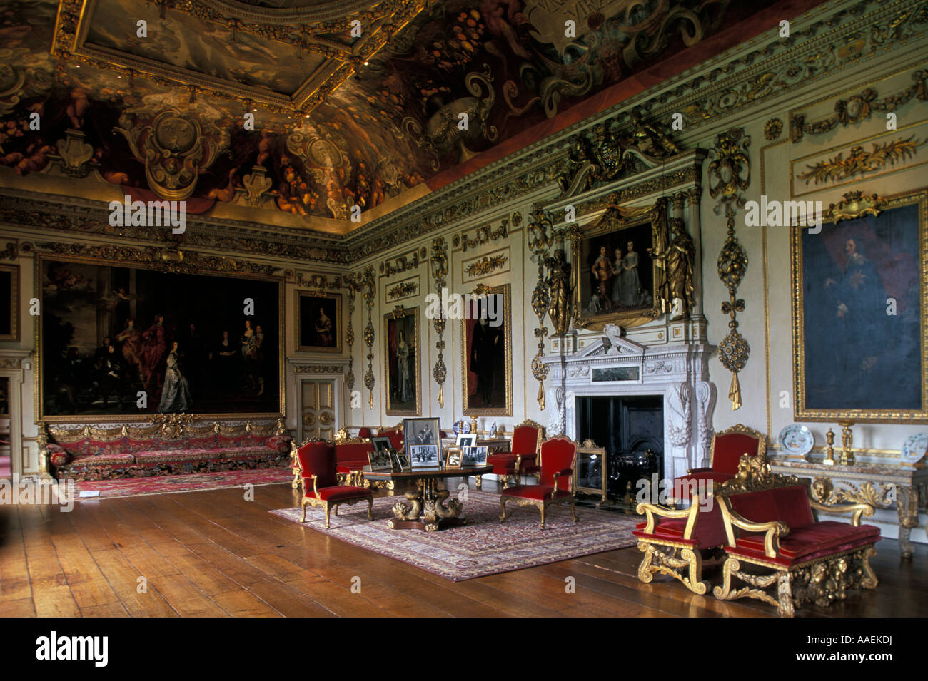 Double Cube Room Wilton House