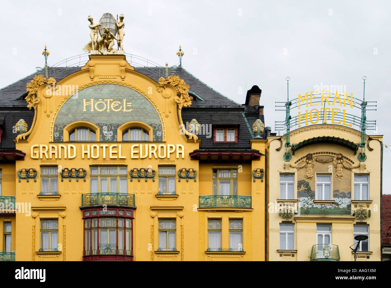 Art nouveau classics 39 grand hotel europa 39 and 39 meran for Grand hotel bohemia prague restaurant