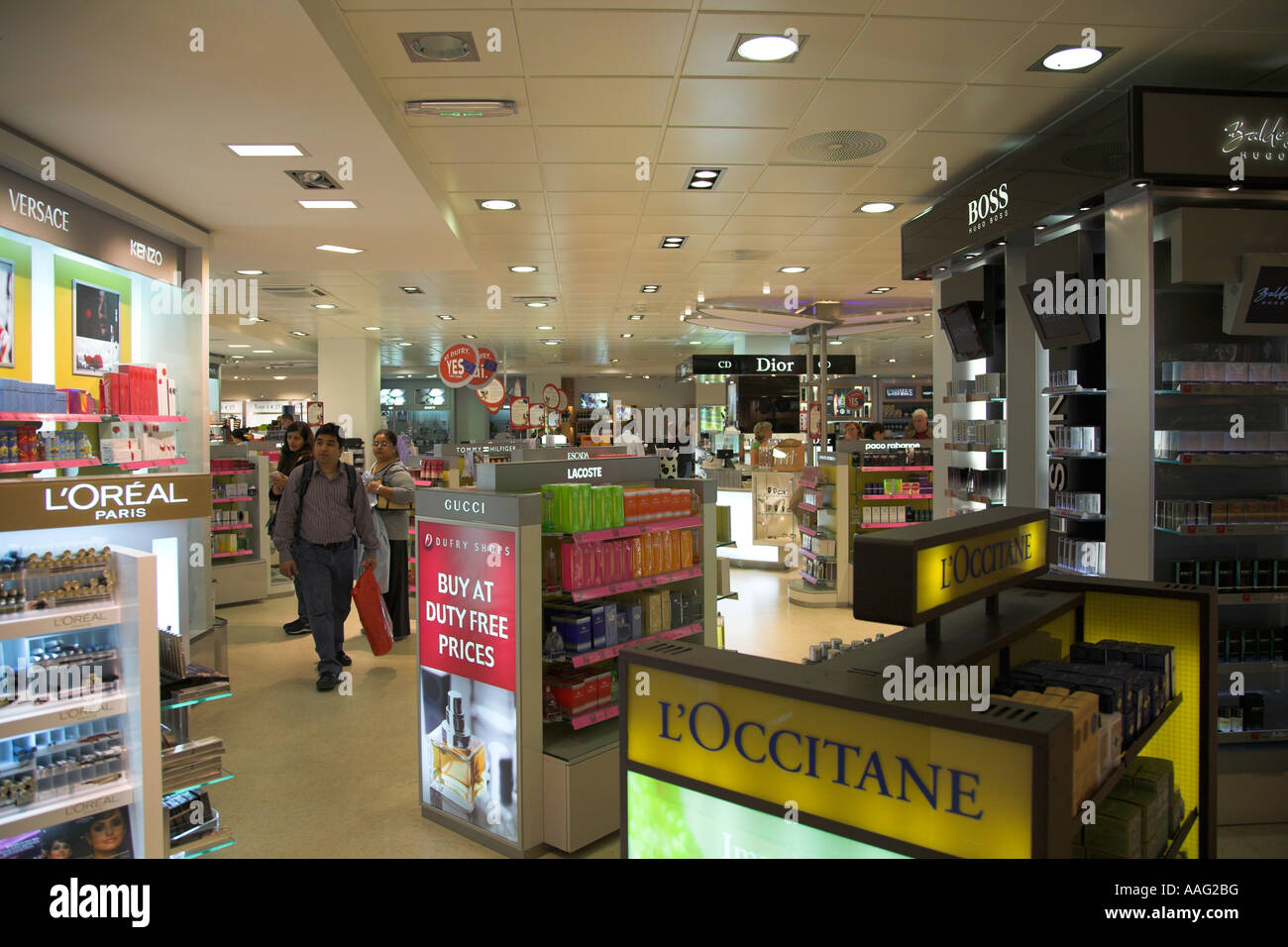 duty free shop at the euroairport basel mulhouse freiburg in france stock photo royalty free. Black Bedroom Furniture Sets. Home Design Ideas