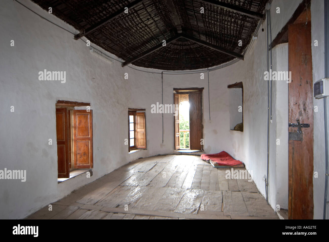 House design ethiopia - Guest House Interior Of Emperor Menelik S Old Palace In Entoto Hills Above Addis Ababa Ethiopia Africa