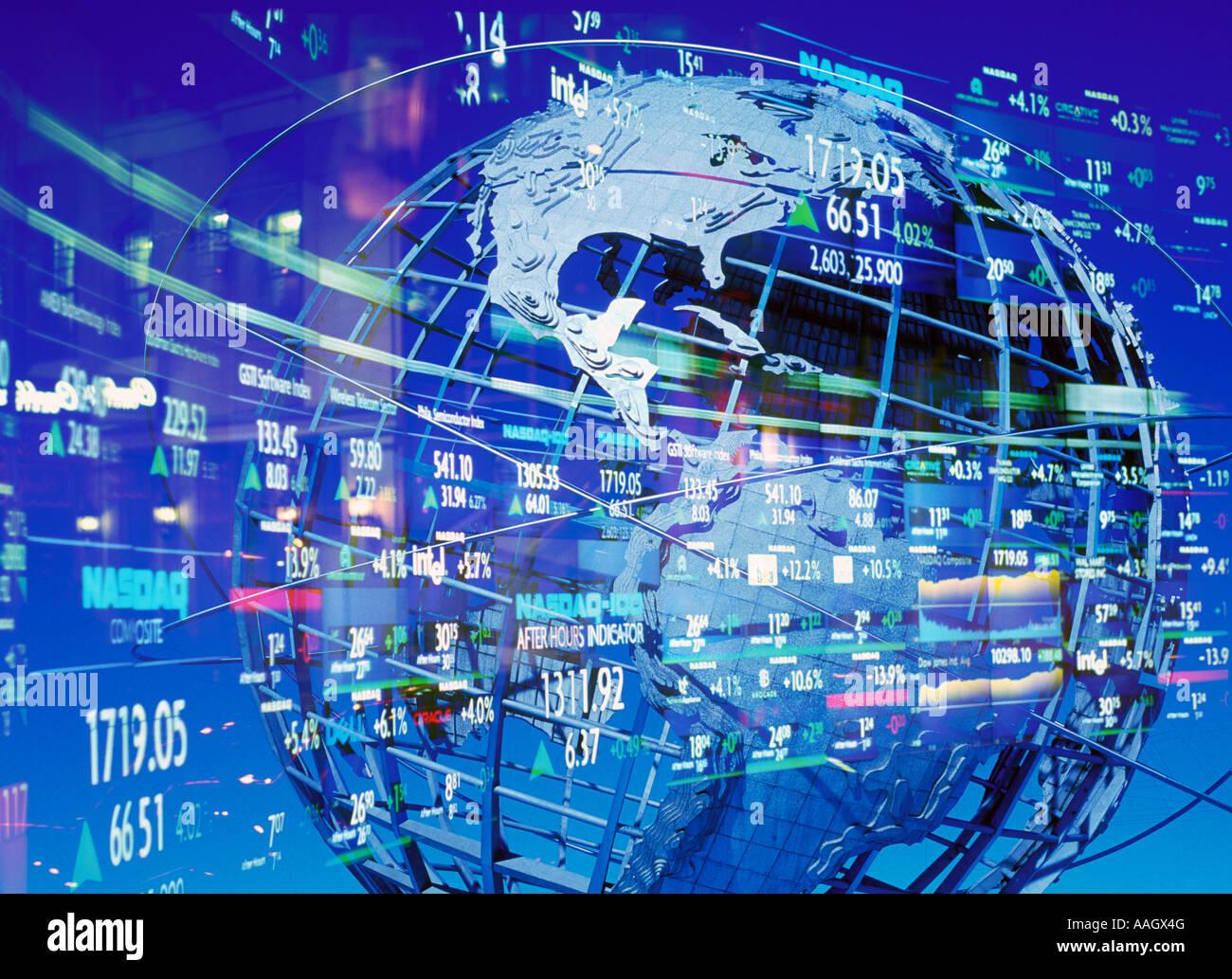World stock exchange symbols choice image symbol and sign ideas globe and stock market symbols stock photo royalty free image globe and stock market symbols buycottarizona buycottarizona