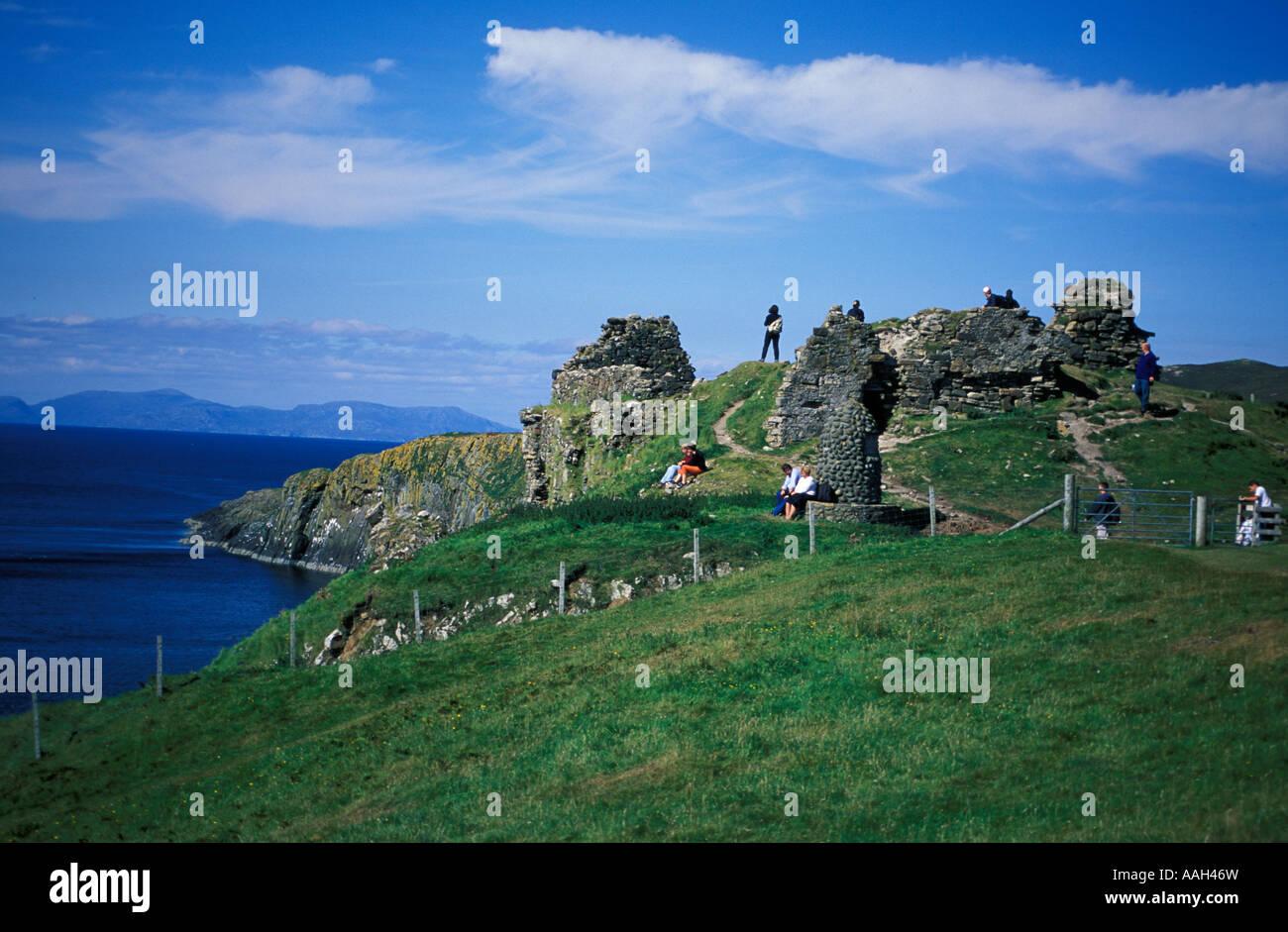 Isle Of Skye United Kingdom  city images : Duntulm Castle Isle Of Skye Inverness Shire Highlands Scotland United ...