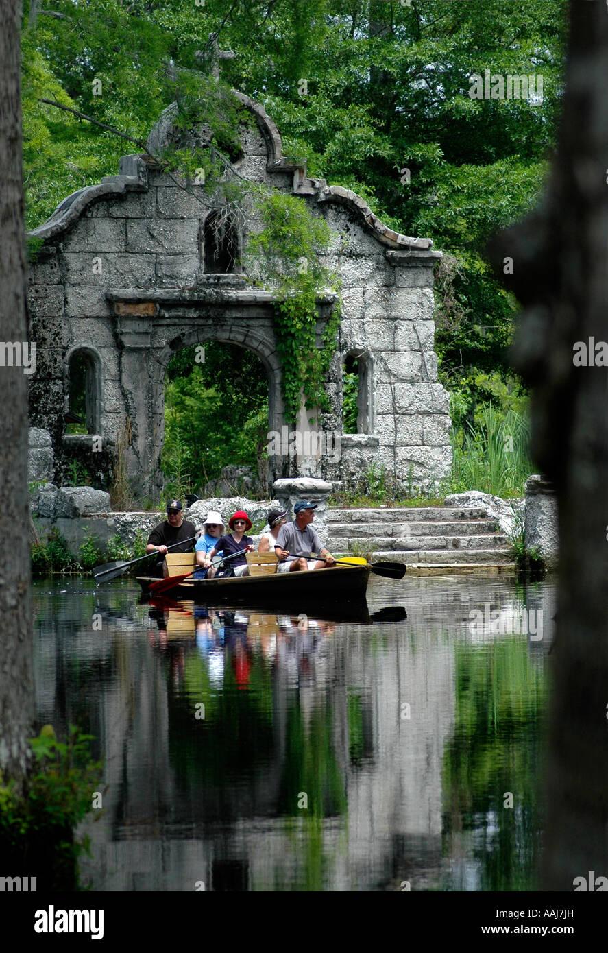 Guided Boat Tours At Cypress Gardens Moncks Corner Sc Stock Photo Royalty Free Image 12640648