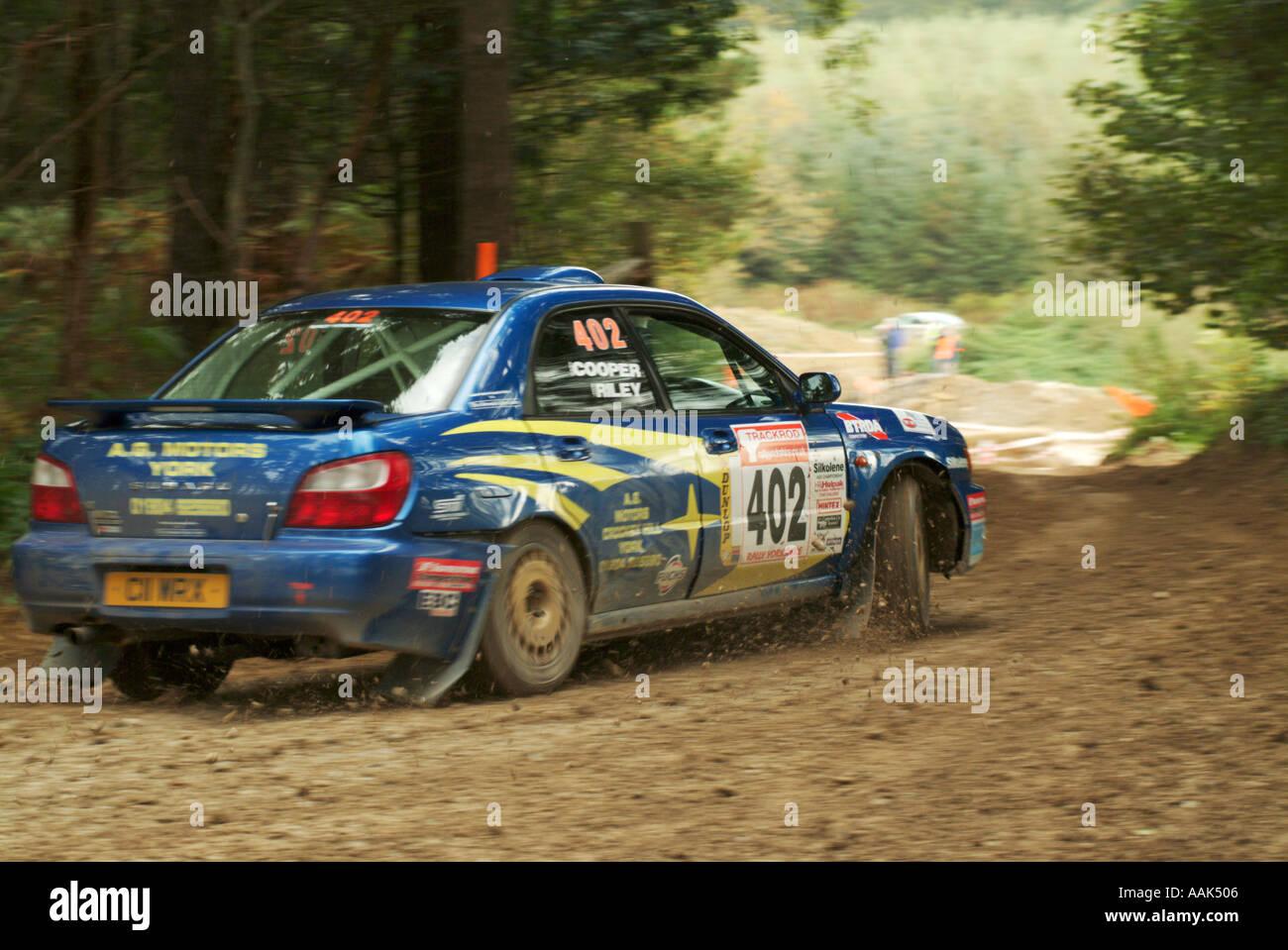 Subaru Rally Car Stock Photos & Subaru Rally Car Stock Images - Alamy