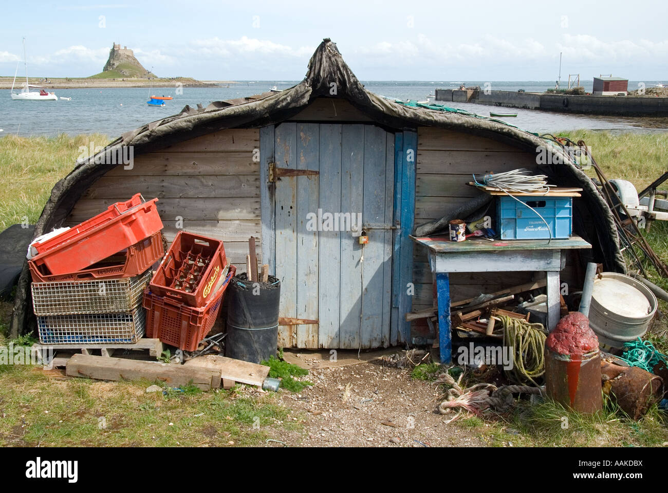 boat-shed-and-fishing-paraphernalia-on-t