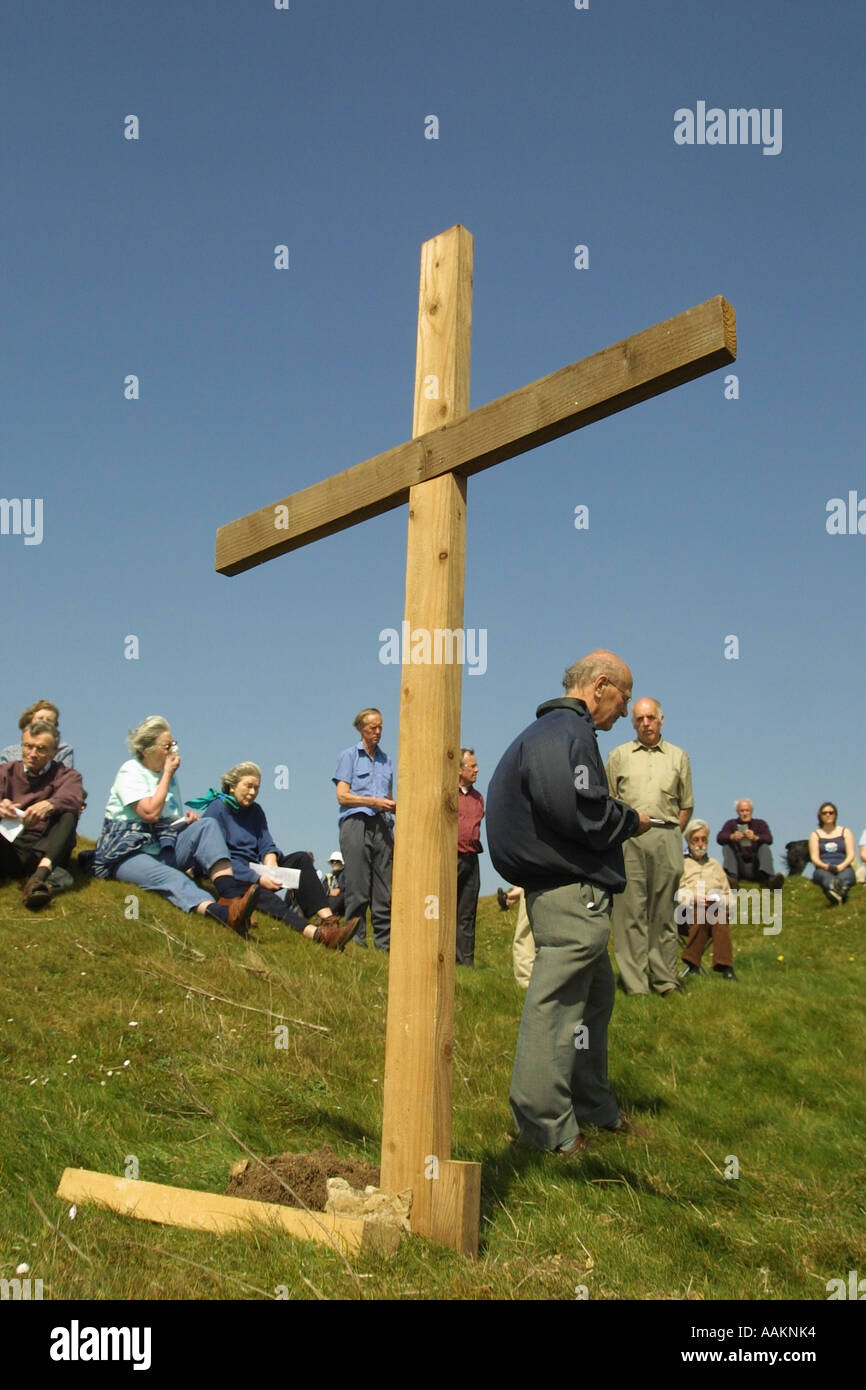 Outdoor Wooden Cross Gallery