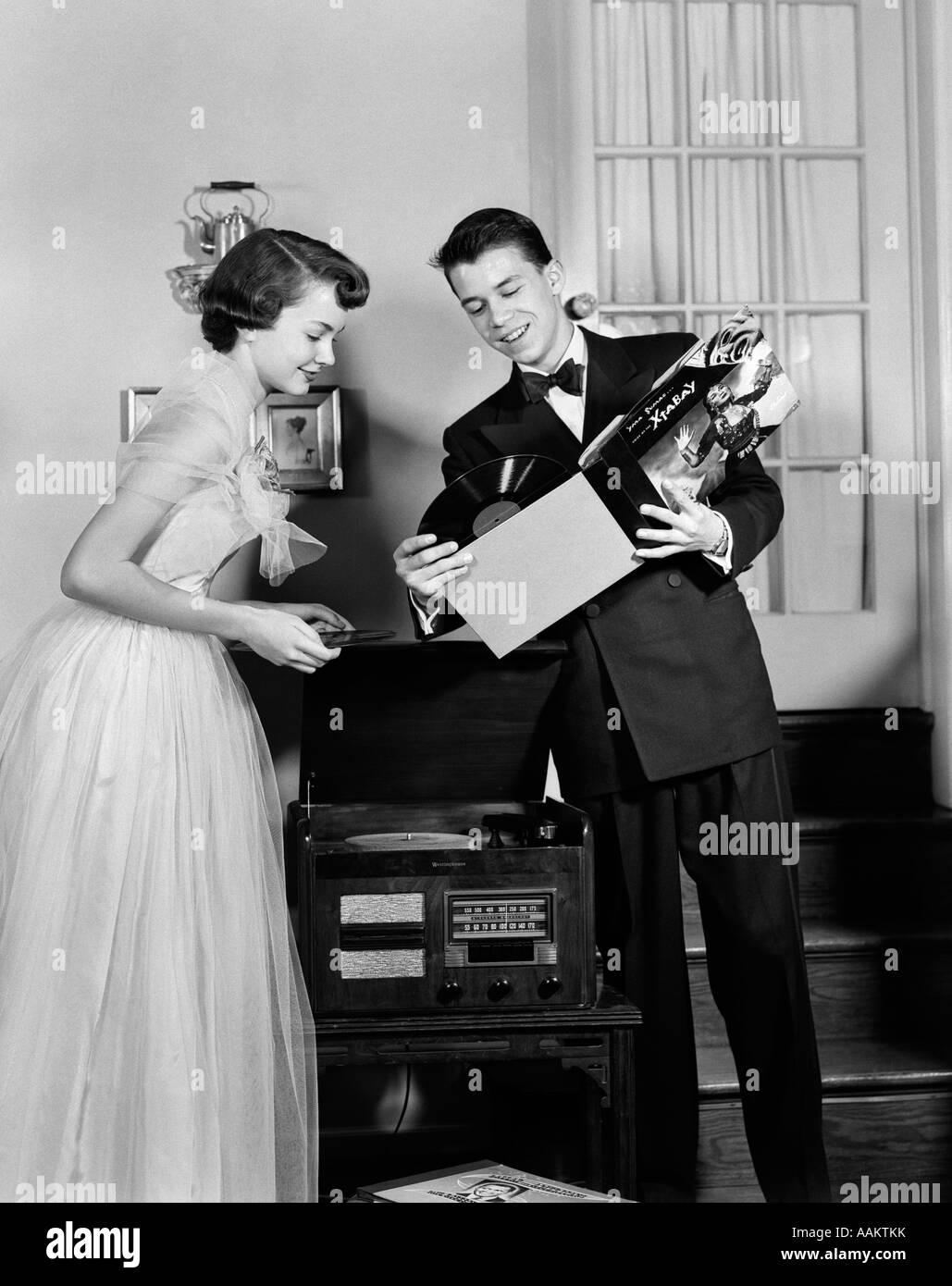 1950s formal wear