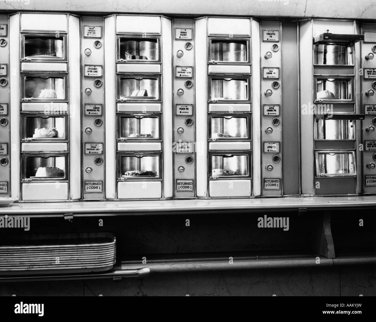 1920s 1930s 1940s 1950s series automat cafeteria vending for 1920s window