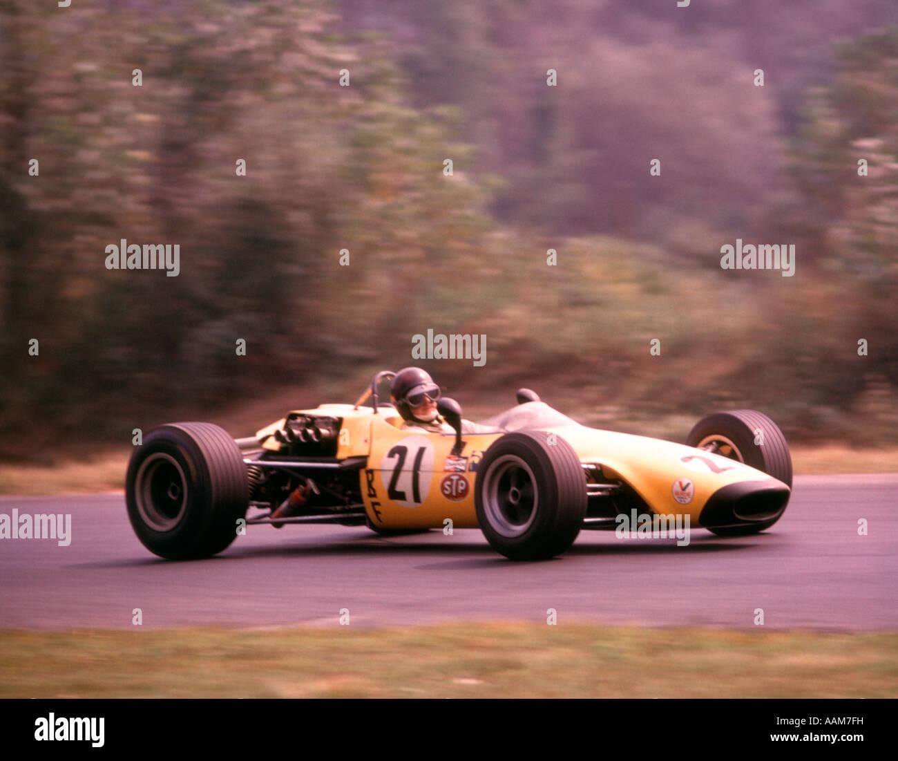 Yellow Sports Race Racing Car Driver Black Helmet