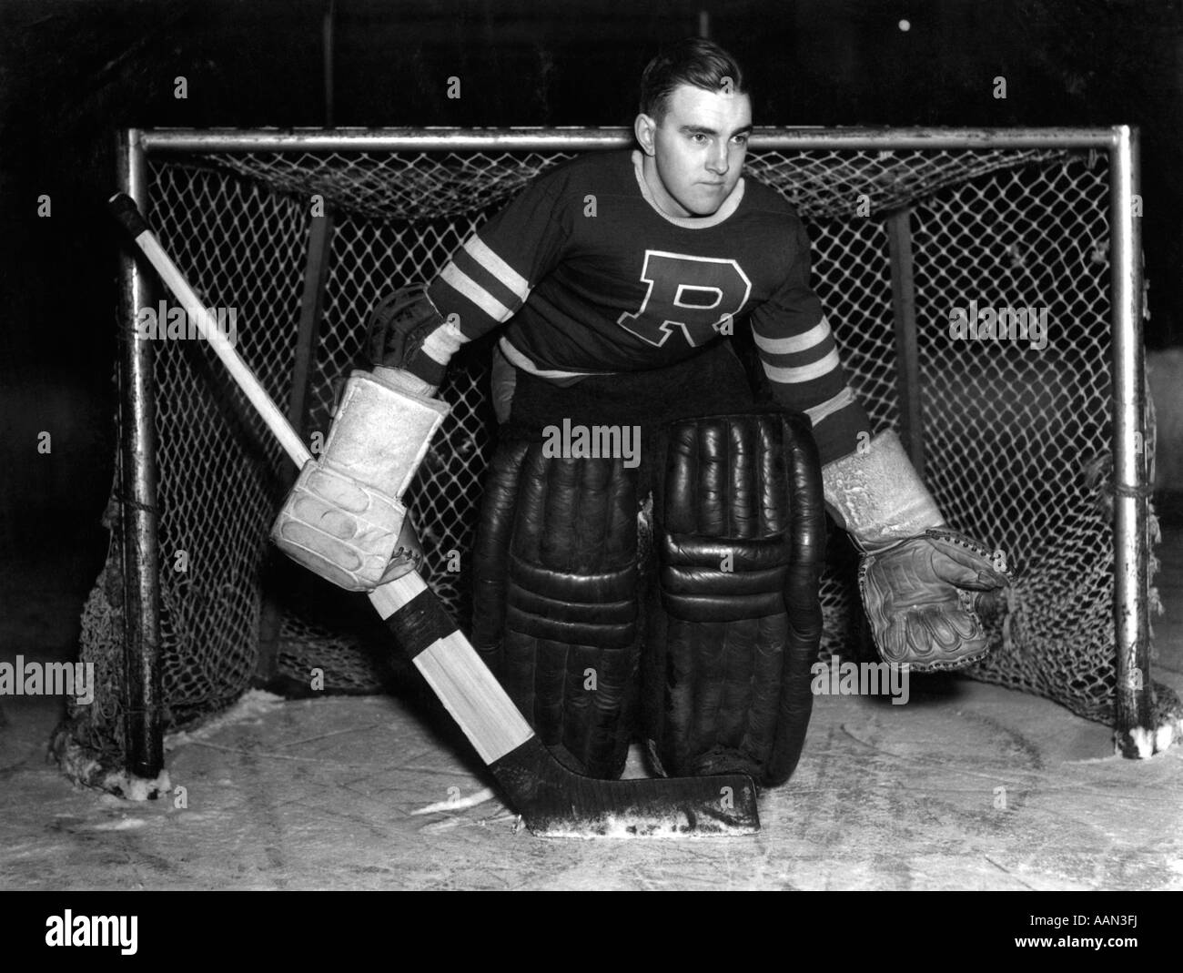 how to make a free standing hockey goalie