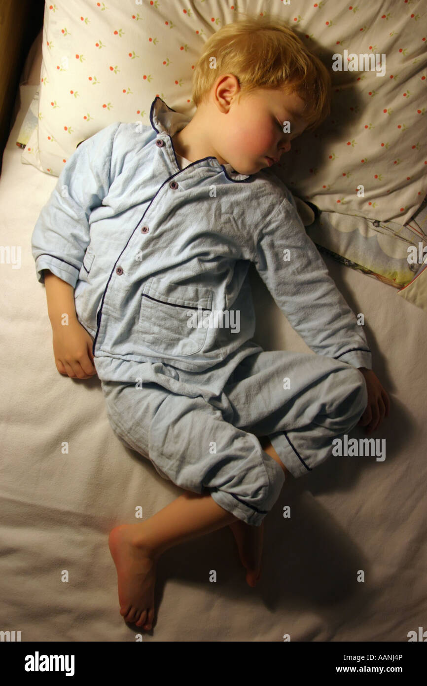 4 Year Boy Bedroom Decorating Ideas: 4 Year Old Boy Sleeping Stock Photo, Royalty Free Image