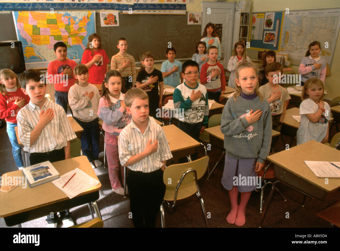 pledge of allegiance children stock photos u0026 pledge of allegiance