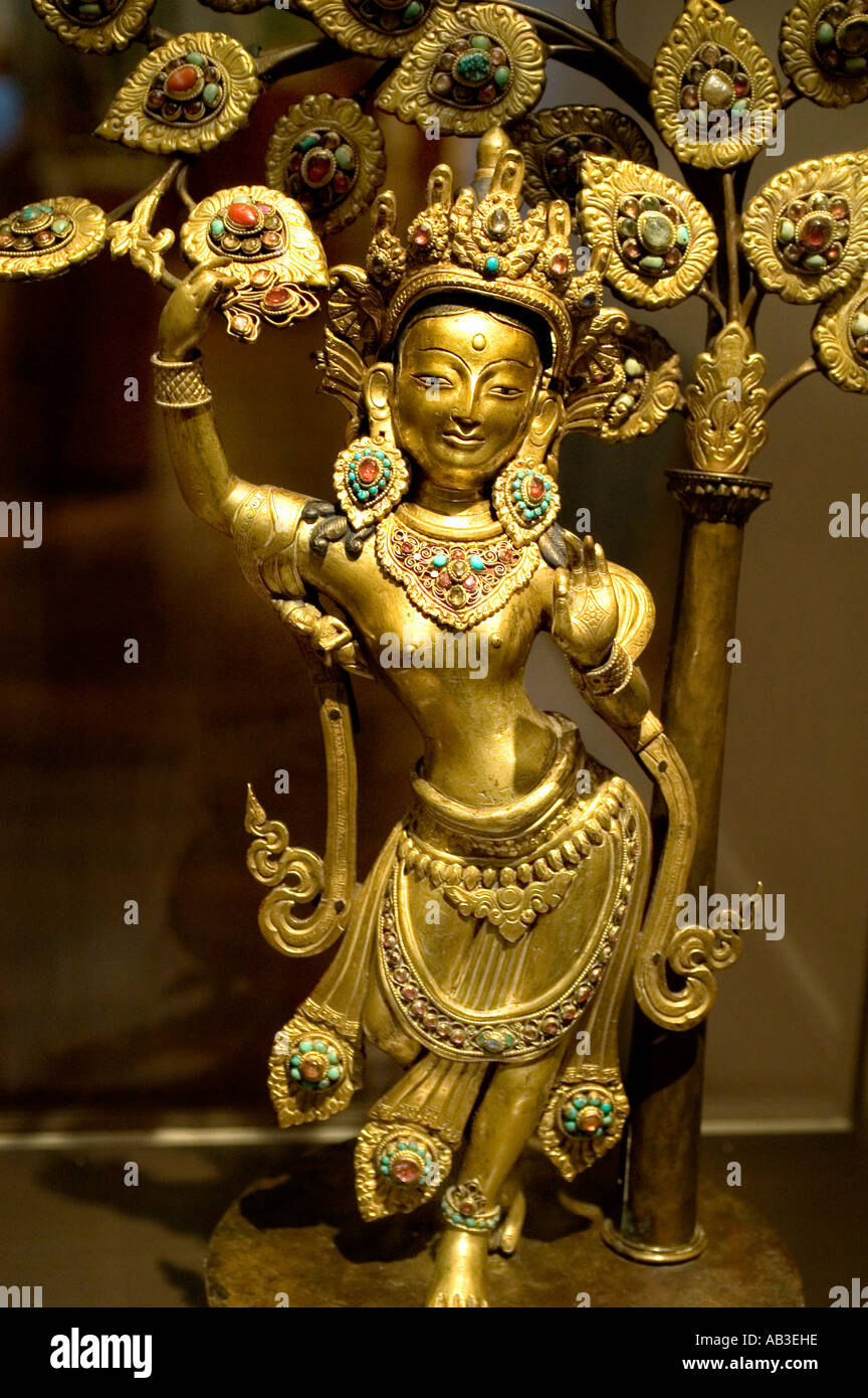 Queen Maya Devi Nepal Xix Cent Was The Mother Of The