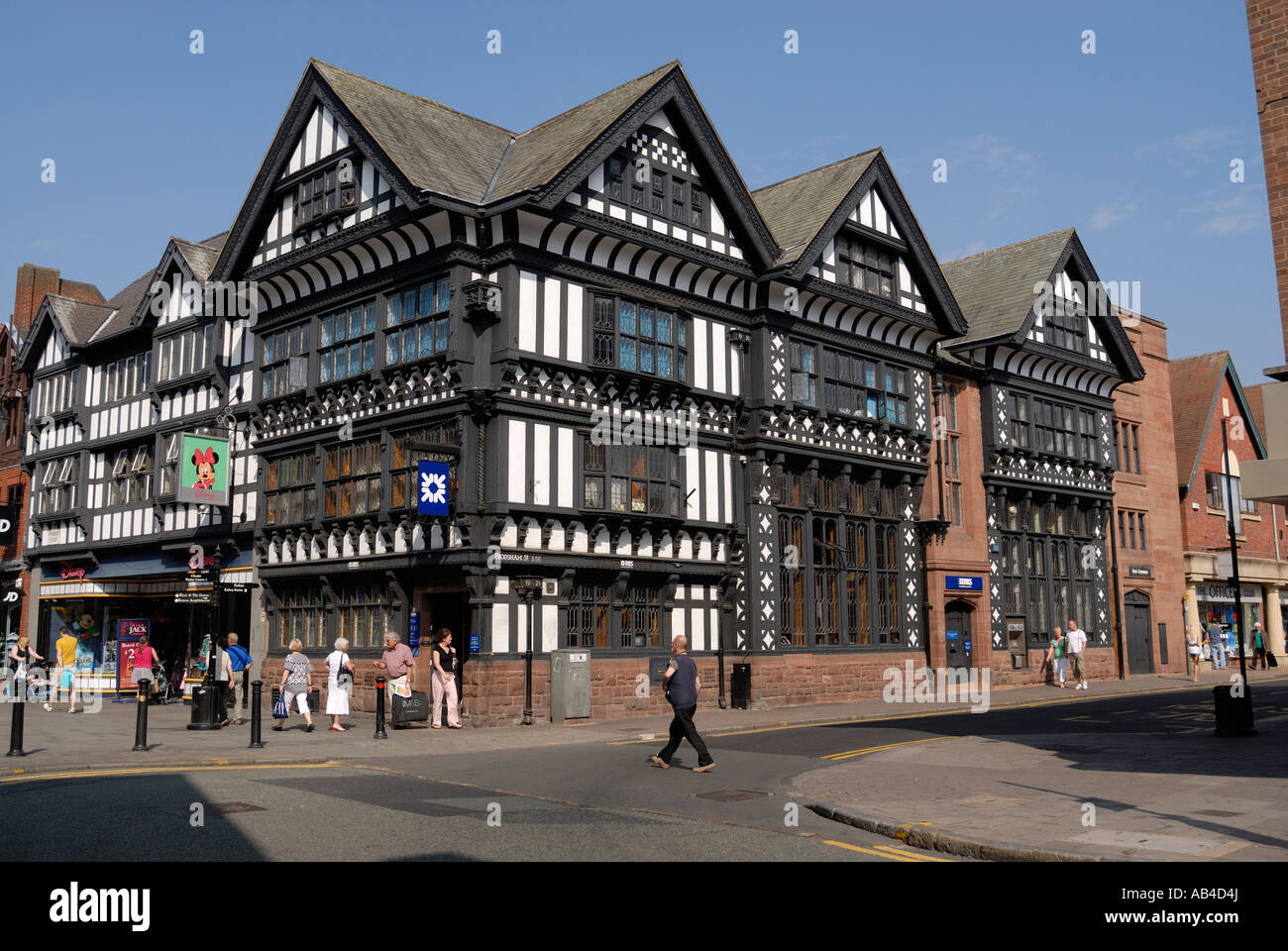 Tudor Architecture chester. tudor black and white half timbered tudor buildings at