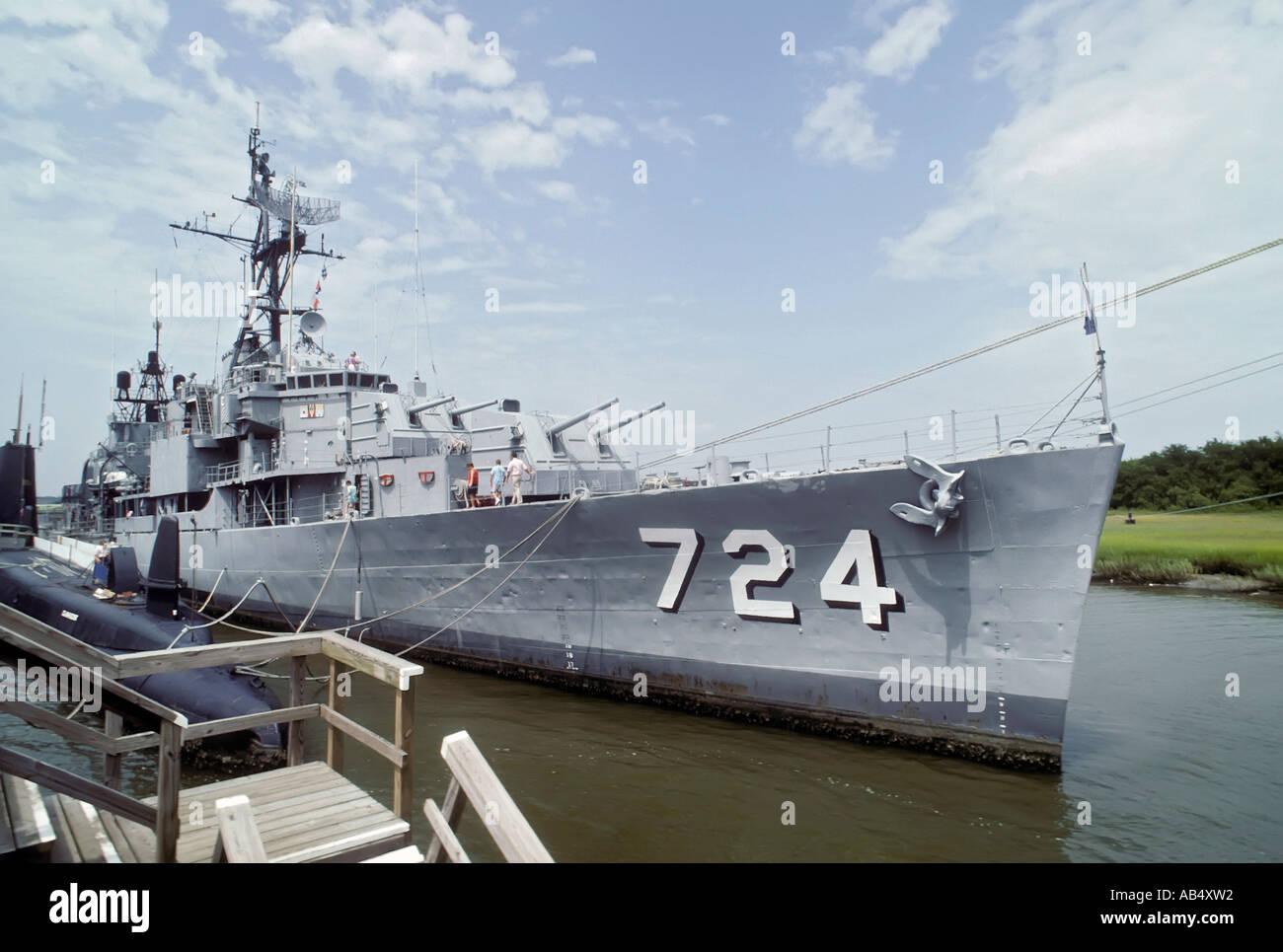 Battleship Tour South Carolina