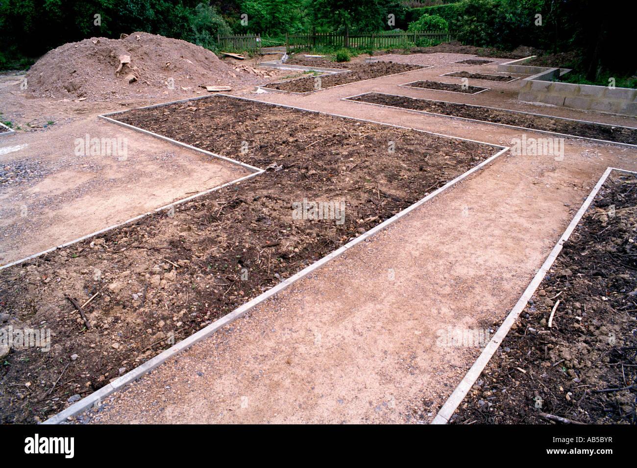New Garden Layout Broadview Gardens Hadlow College Kent
