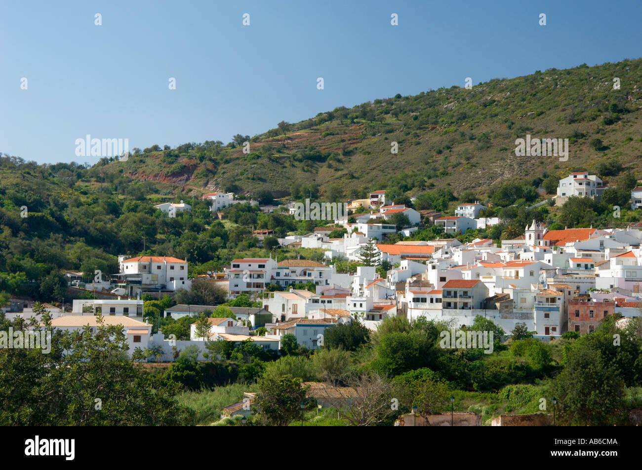 portugal the algarve alte village in the hinterland hills. Black Bedroom Furniture Sets. Home Design Ideas