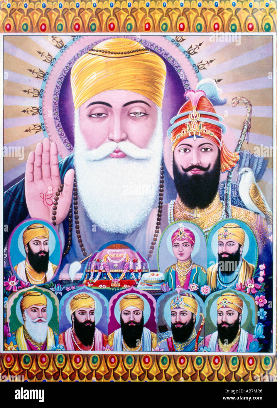 ten gurus of sikhs The following discussion of the lives of the 10 gurus relies on the traditional sikh account.