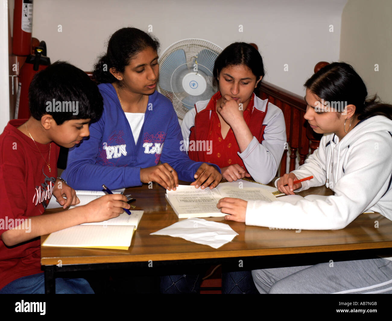 Hindu Centre Wimbledon London England Hindu School Children ...