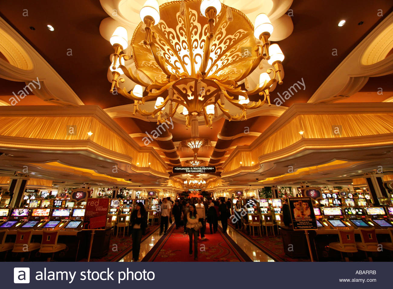 Hall casino at the mgm casino in