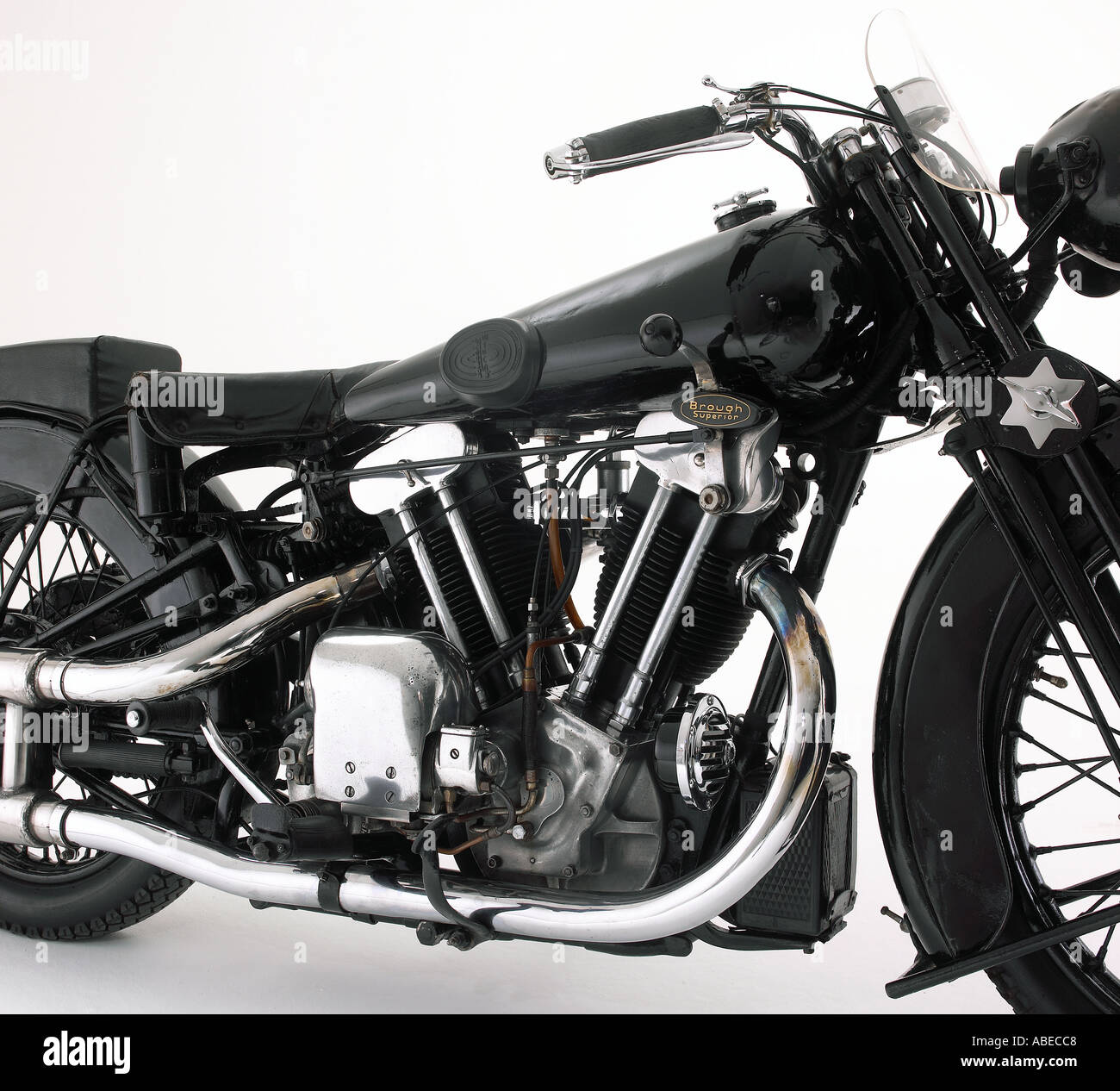 1932 Brough Superior 10hp Ss100 Lawrence Of Arabia S Bike Stock