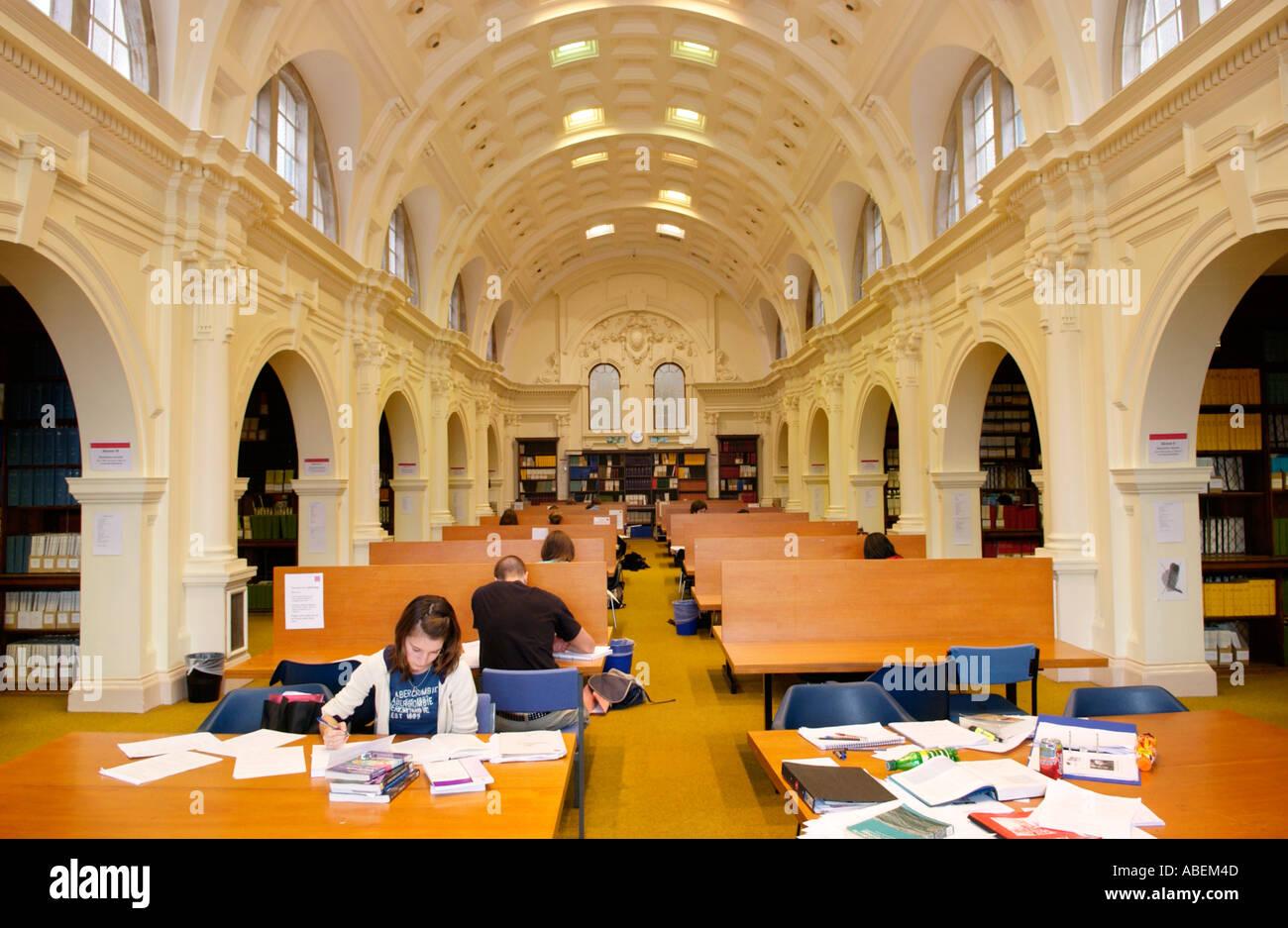 Cardiff University Main Building Library