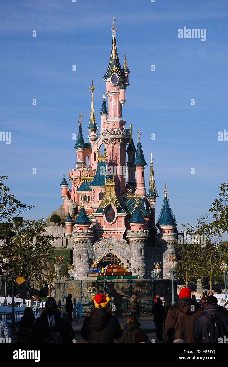 Disney Sleeping Beauty Castle