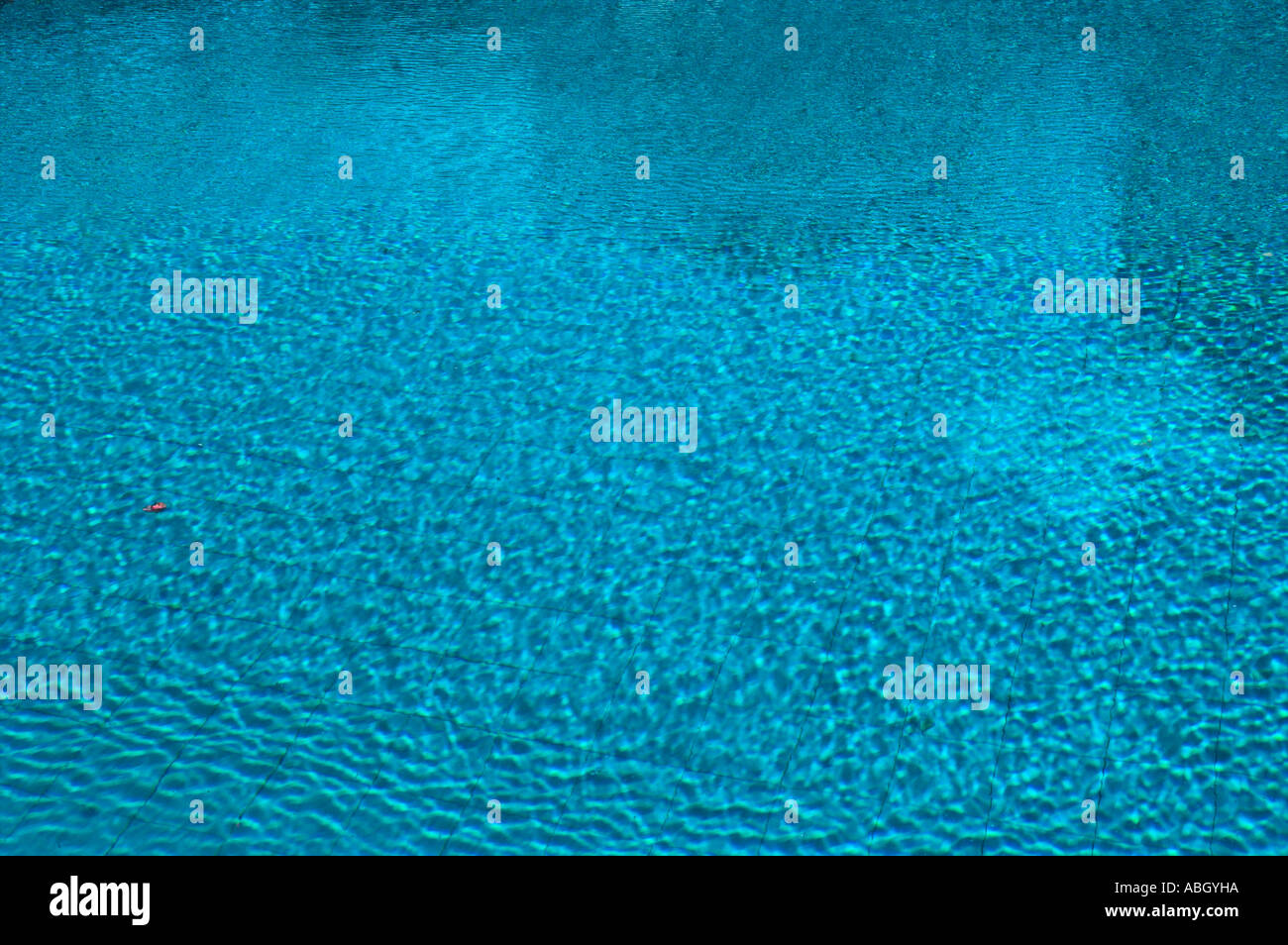 Blue water with ripples in swimming pool stock photo royalty free image 7366745 alamy for Why is swimming pool water blue