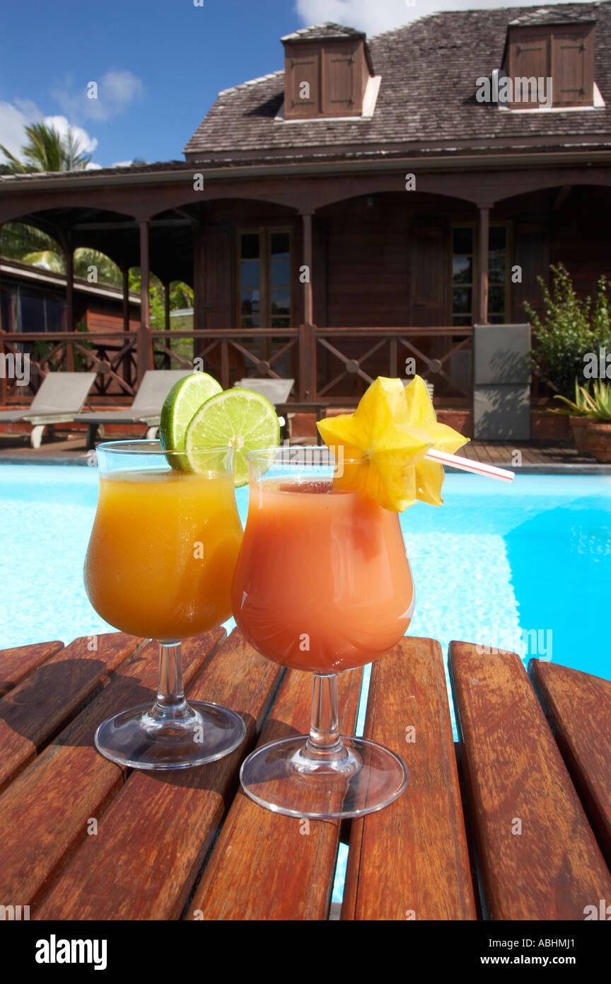 Cocktails hotel le jardin malanga trois rivieres basse for Jardin malanga
