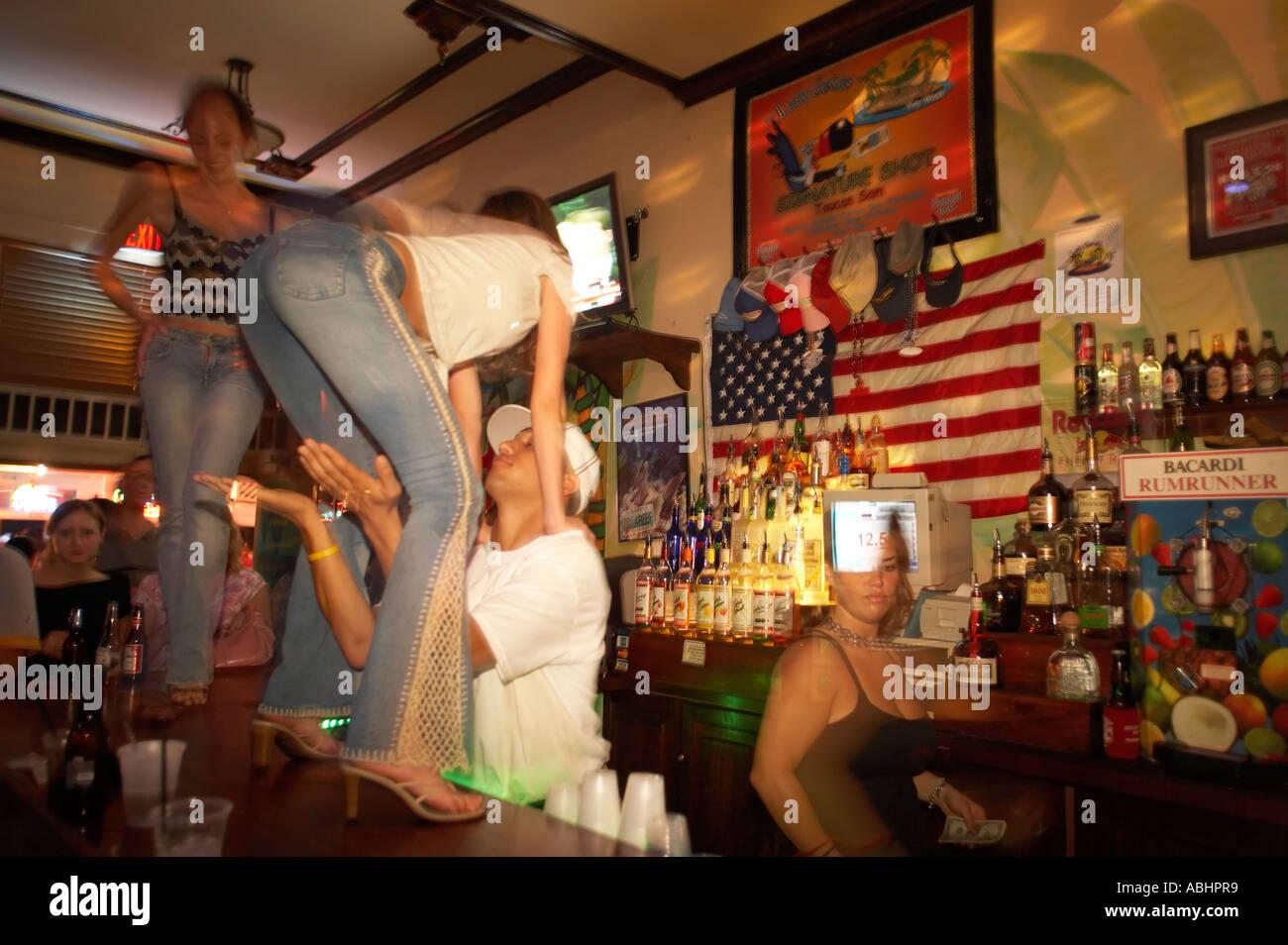 Stock Bar Dancers