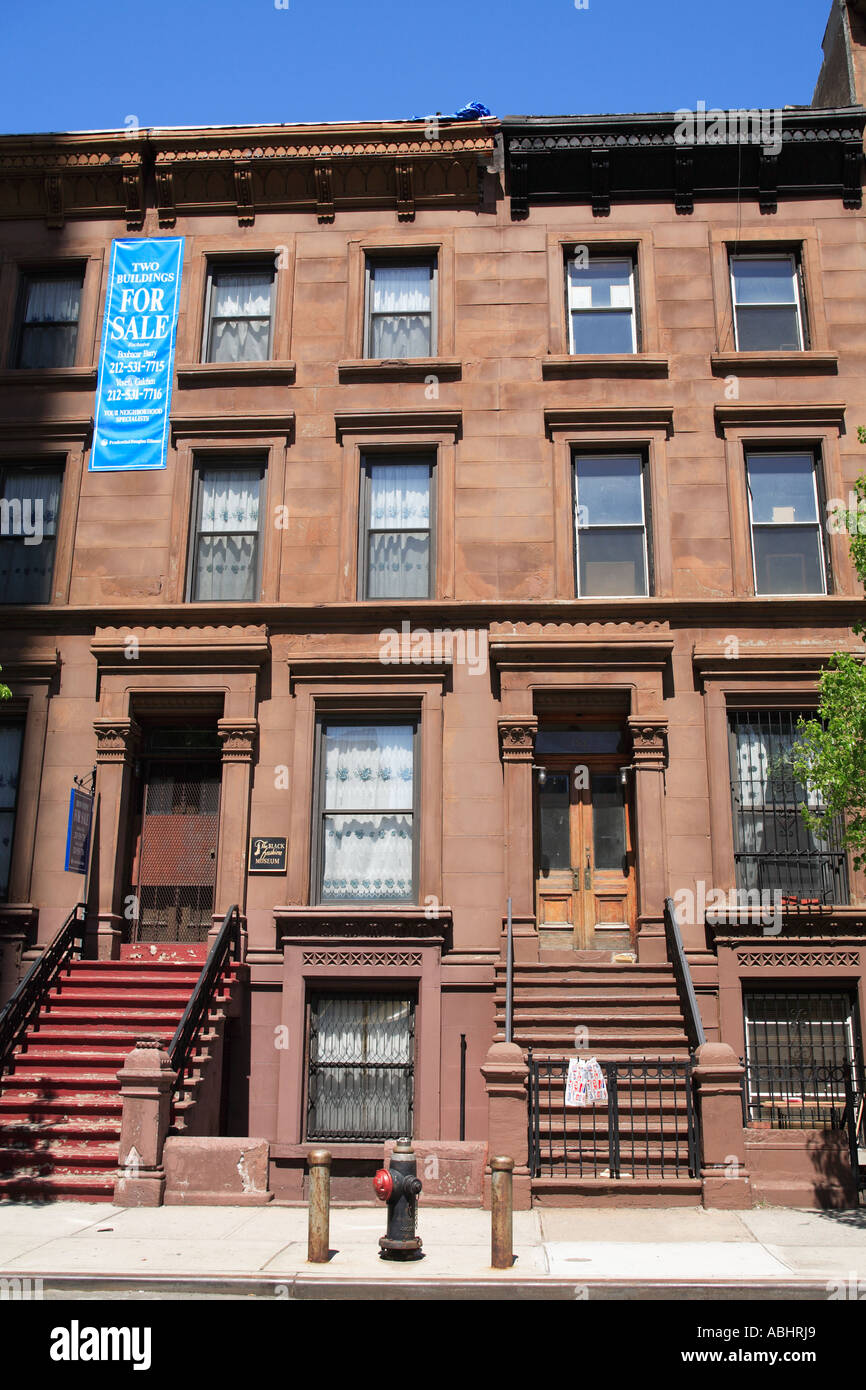 Classic harlem brownstones for sale manhattan new york for New york city brownstone for sale